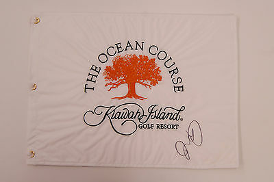Rory McILROY SIGNED AUTOGRAPH AFTAL COA US PGA White Golf Flag Ryder Cup Winner