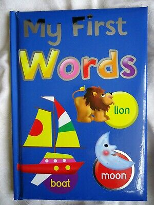 My First Words Book - Brand New