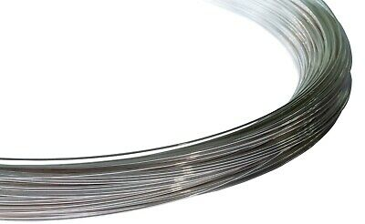 925 Sterling Silver Round Wire (Half Hard)  0.4mm to 2.0mm