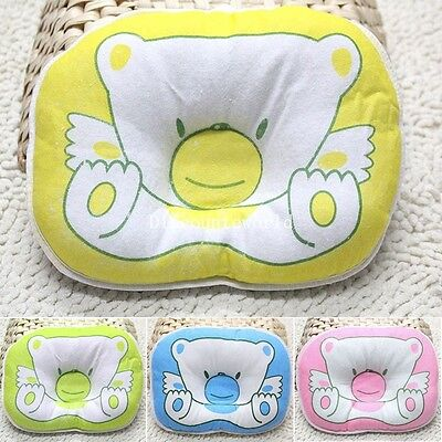 Newborn Baby Infant Support Positioner Head Soft Flat Sleeping Cushion Pillow