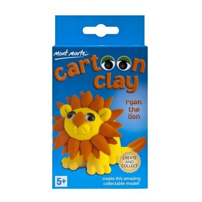 Mont Marte Cartoon Clay Kit - Ryan the Lion