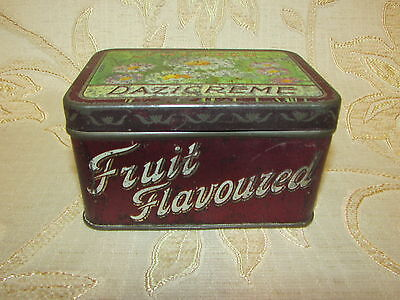 Antique Collectable Victorian Tucker's Dazicreme Tin Box