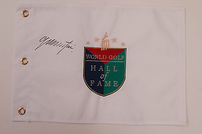 Colin MONTGOMERIE SIGNED Autograph RYDER CUP AFTAL COA Hall of Fame GOLF Flag