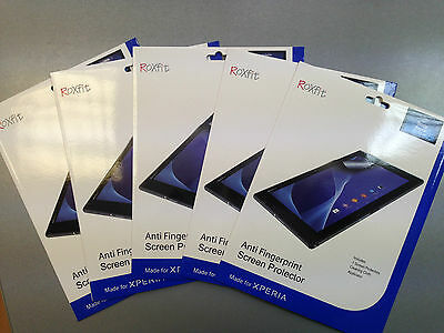 JOB LOT Sony Xperia Z2 Tablet RoXfit Anti Fingerprint Screen Protector - SMA2144