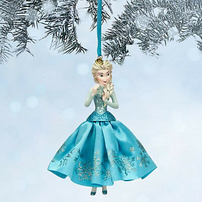 Disney Store Elsa Sketchbook Ornament - Frozen - New with tags in box