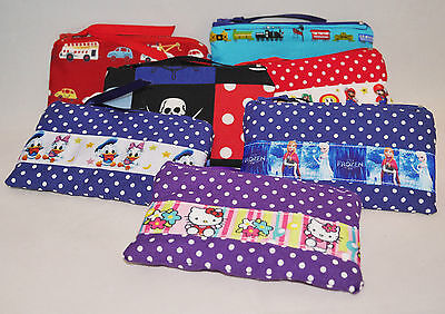 Handmade Padded Zip Coin Purses - Many different designs Mario Donald Kitty