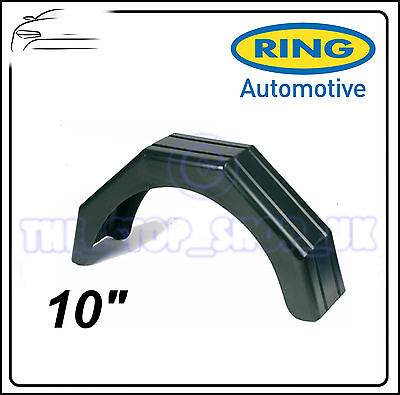 Ring Black Plastic 10'' Trailer Mudguard RCT235