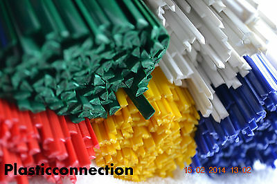 ABS Plastic welding rods colour mix 42pcs/motorcycle motorbike fairing repairs
