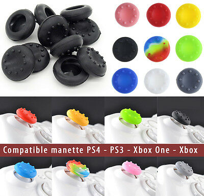 Protection SILICONE pour bouton thumb stick joystick manette PlayStation PS4 PS3