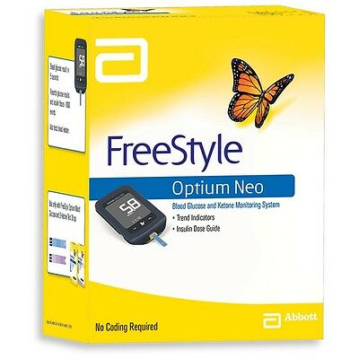 Free After $40 Cash Back! Quick Post! Abbott Optium Neo Blood Glucose Monitor