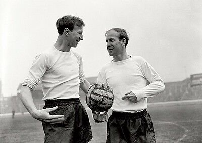 Bobby and Jack Charlton Brothers BW Posters