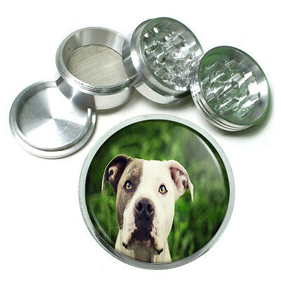 Dog Pit Bull 05 Aluminum Herb Tobacco 4pc Grinder