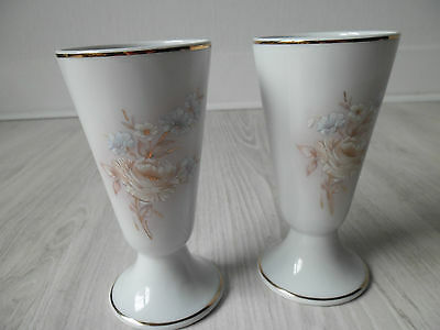 Limoges porcelain decorative coffee cups / chocolate cups