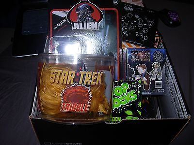 September 2014 Lootcrate: Galactic. Complete!