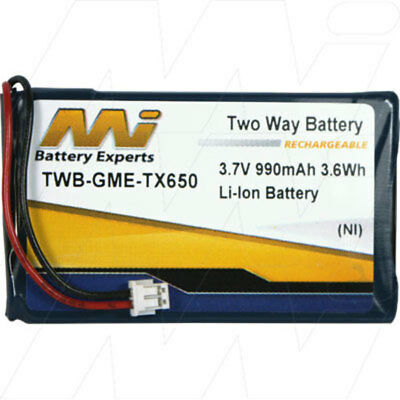 Two Way Radio Battery for GME TX650