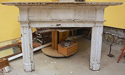 Antique Wooden Mantel | 1800s | Leesburg, Virginia | Architectural Antique