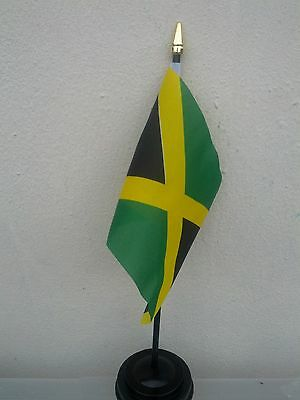 Jamaican Jamaica Flag Flags Polyester Without Base