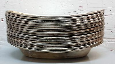 24.5 LBS Copper Nickel Silver Soldered Scrap Norte Dame Stamped R. Wallace Bowls