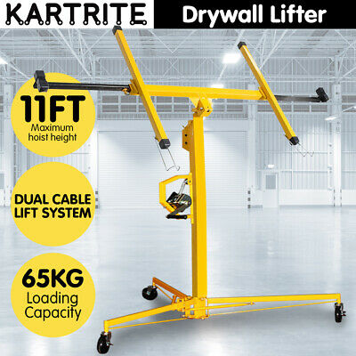 11ft PLASTERBOARD LIFTER PLASTER DRYWALL SHEET PANEL LIFT GYPROCK BOARD HOIST