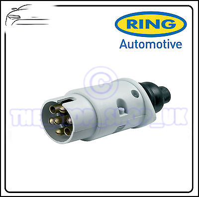 Ring Towbar Towing Caravan 7 Pin Plastic 12S Plug A0029