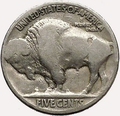 1920 BUFFALO NICKEL 5 Cents of United States of America USA Antique Coin i43578