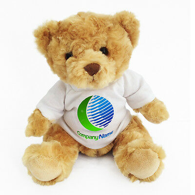 Personalised Promotional Soft Toy Teddy Bear Gift Printed With Your Logo Design