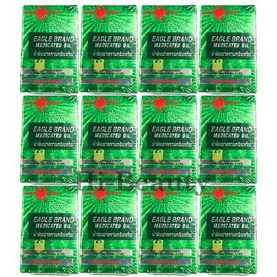 12 x 3 ml Eagle Brand Medicated Oil Pain Relief