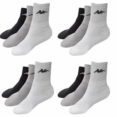 3 - 12 Paar Tennissocken Kappa Herrensocken Sport Fitness Socken Herren Socken
