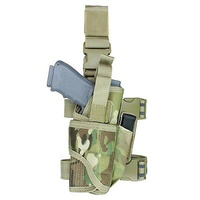 Condor TTLH Tactical Tornado Leg Holster Drop Thigh Pistol Mag Holder Multicam