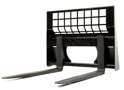 Eterra Skid Steer Pallet Forks - 4400 lb. - Fits All Modern Skid Steer Loaders