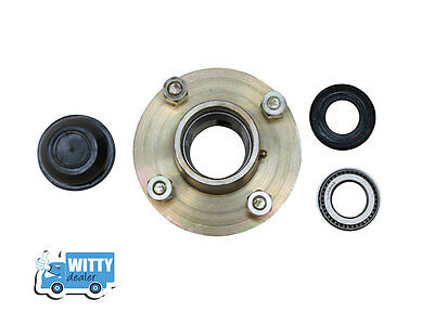 4 Pcd Wheel Hub Trailer Set  -  4 Studs and 2 Taper roller bearings High Quality