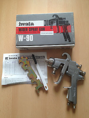 SONDERAKTION-IWATA WIDER Heavy Duty Gun W-90, 12G2P, 1.2mm Düse,Lackierpistole