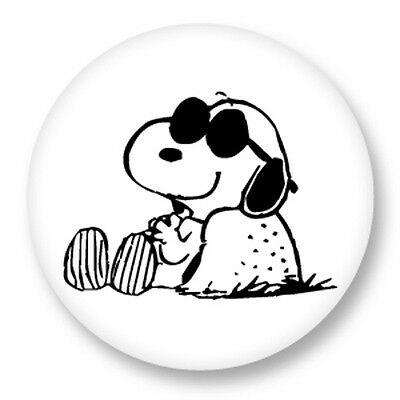"Pin Button Badge Ø25mm 1"" Snoopy Peanuts Charlie Brown Comic strip"
