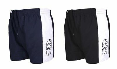Canterbury Panelled Tactic Short Navy and Black