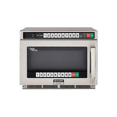 Sharp - R-CD2200M - TwinTouch™ 2200 Watt Commercial Microwave Oven
