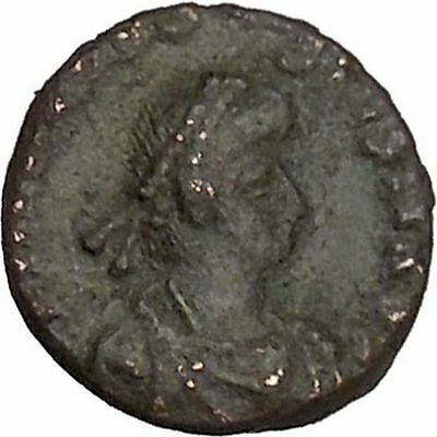 Theodosius I the Great Ancient Roman Coin Wreath of success i42814