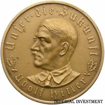 GERMANY BRONZE MEDAL THIRD REICH BY GLOECKLER 1933