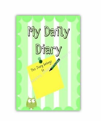 CHILDMINDER A5 MY DAILY DIARY Easy to use childminding - unisex