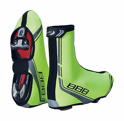BBB HeavyDuty Winter Cycling Overshoes Strong Thermal High Visibility Shoe Cover