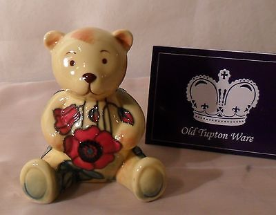 New & Boxed Old Tupton Ware TEDDY YELLOW POPPY - TW5911