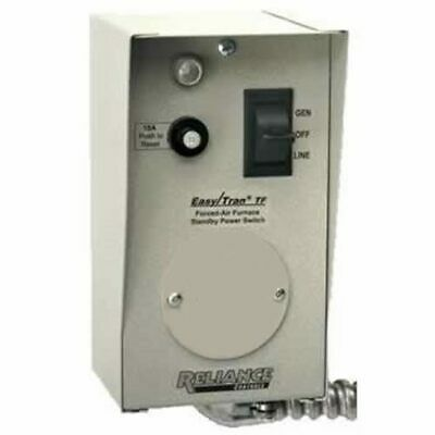 Reliance Controls 20-Amp (120V 1-Circuit) Furnace Transfer Switch
