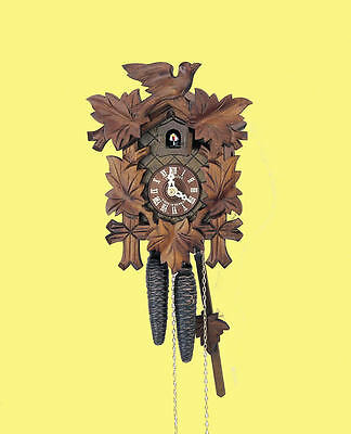 (New!) Cuckoo Clock 30-Hour 9-Inch by Anton Schneider Clocks 70/9 HZ