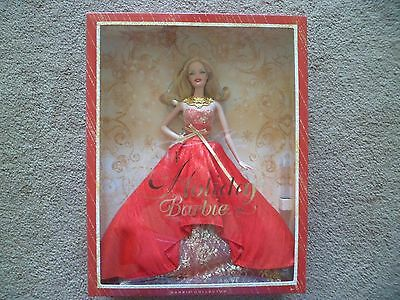 2014 Holiday Barbie Doll Mattel Collector Edition Blonde Caucasian BDH13 ~NEW~