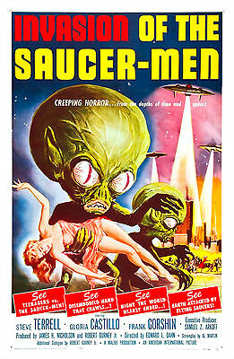 Invasion of the Saucer Men (1957) Movie Poster