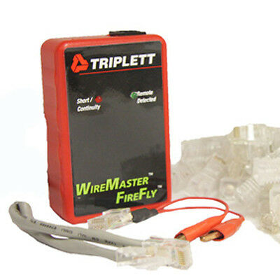 Triplett WireMaster FireFly 3290 Rapid LAN Mapping Tool for wired RJ-45 s