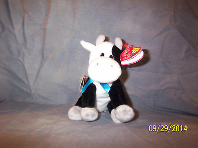 Ty Beanie Babies 2.0 Charlie the Cow New MWMT Unused Codes
