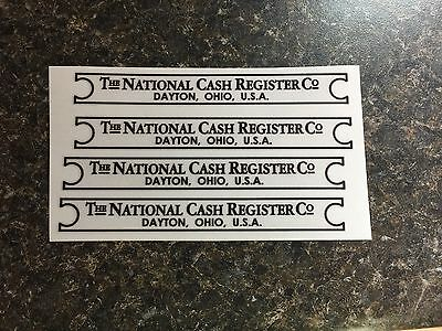 Base Tag Sticker Decal For Ncr National Cash Register