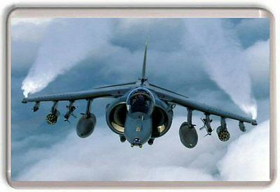 BAE Harrier GR9 Fridge Magnet 03