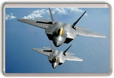 Lockheed Martin F-22 Raptor Fridge Magnet 02