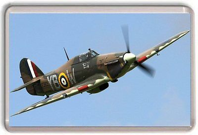 Hawker Hurricane RAF Fridge Magnet 01